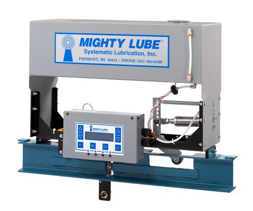 Lubricante autónomo Mighty Lube serie 2100 para línea de transportador simple