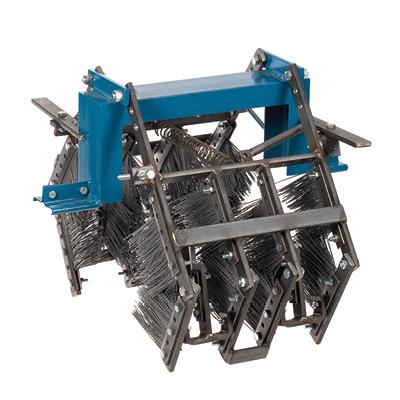Cepillos de limpieza de cadena de viga en I 400I fabricados por Mighty Lube