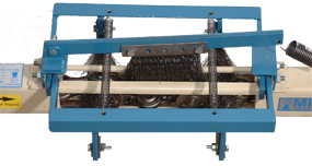 Model 8075B richards wilcox enclosed track conveyor chain cleaning brushes
