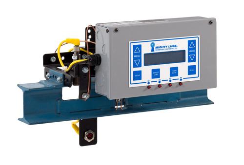 Unidad de cabezal lubricador de transportador monorriel I-Beam para I-Beam de 3 pulgadas