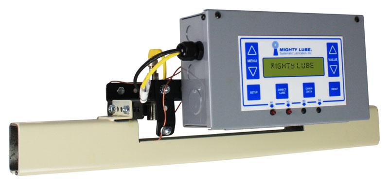 Unidad principal de lubricación de transportador Mighty Lube Modelo 9000L para transportadores de vía cerrados richards-wilcox