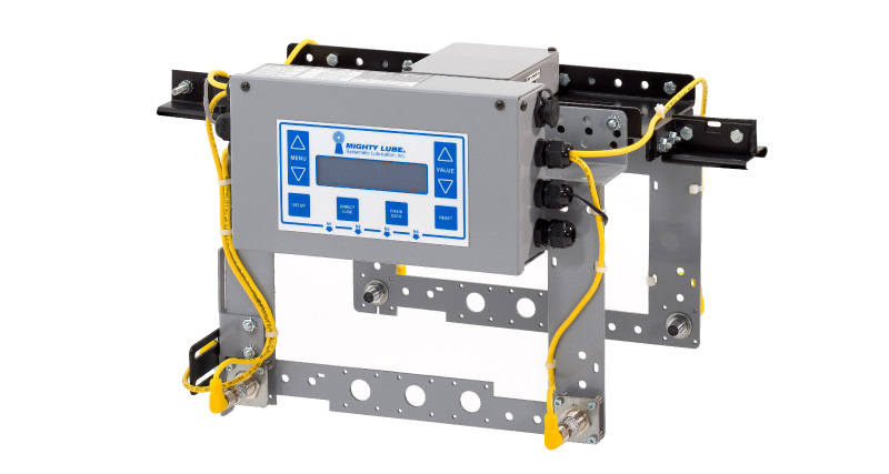 Mighty Lube Single Line Conveyor Monitoring System equipment for facilities with one conveyor line