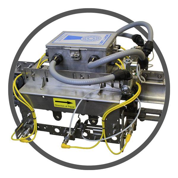 Sistema de lubricación y monitoreo de transportadores de la industria alimentaria por Mighty Lube