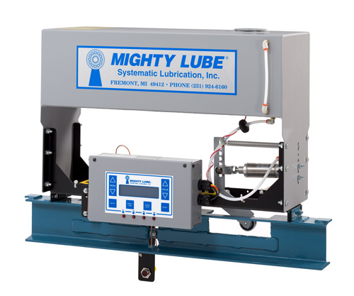 2100 Series Mighty Lube Self contained lubricator for single conveyor line
