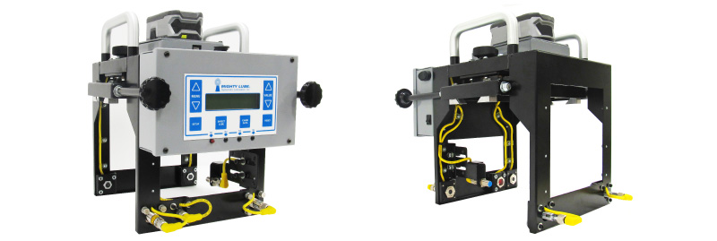 portable monitoring system models front and back view of hardware