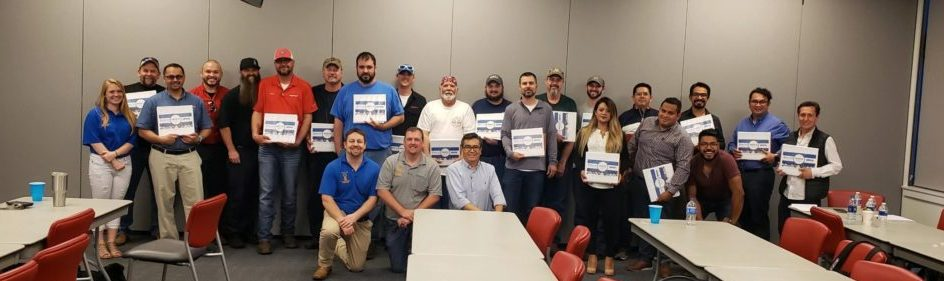 MOCS mighty lube and opco certified specialist training 2019 Spring Class participants