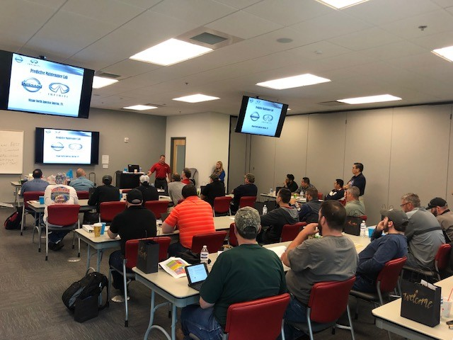 MOCS 2019 Predictive and Reliability Maintenance Class taught by Prentice Richardson with Nissan North America.