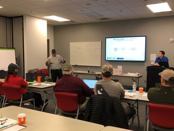 Kevin Kuss of Nakanishi Metal Works Co presenting in November 2019 about basic conveyor terminology